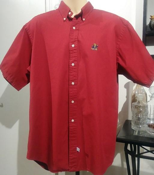 abb5f970 Polo by Ralph Lauren Shirts | Vintage Polo Bear Short Sleeve Oxford ...